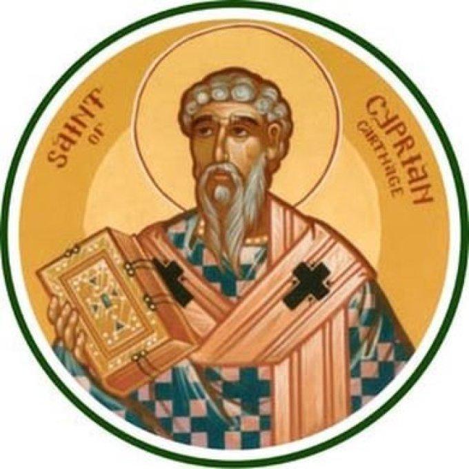 Le 16 septembre : Saint Cyprien de Carthage