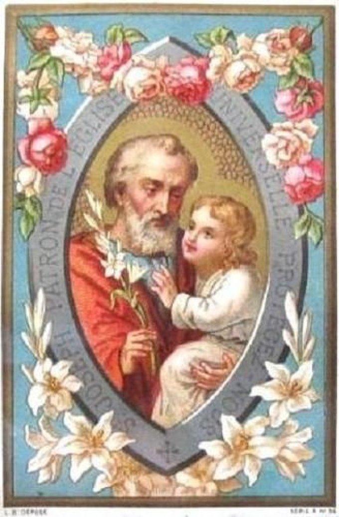 Saint Joseph, qui avez été appelé Père de Jésus-Christ, priez pour nous