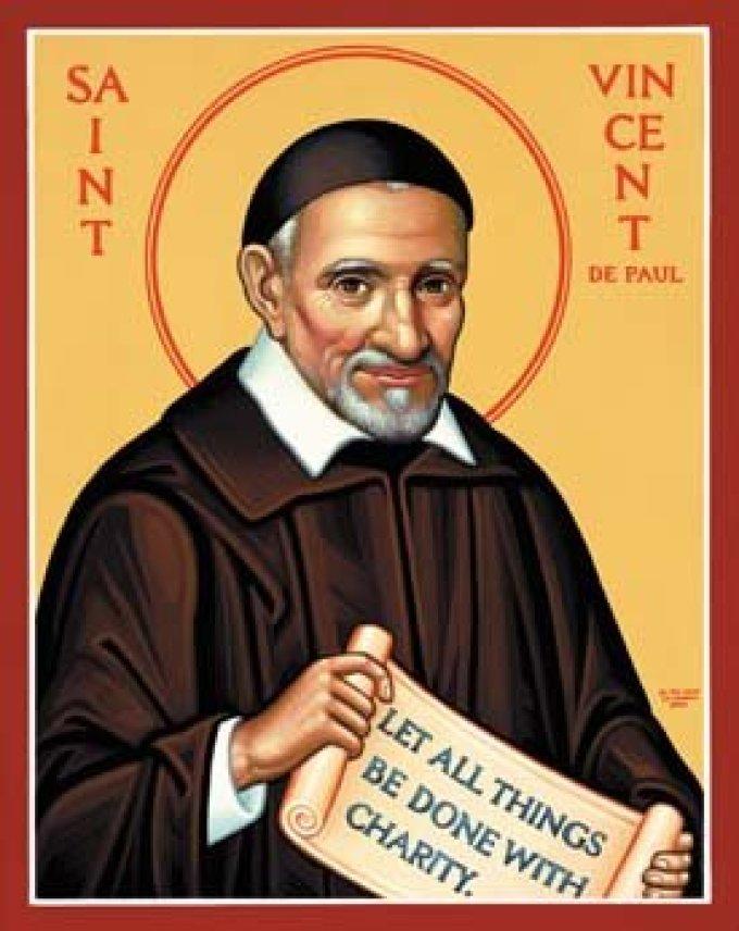 Le 27 septembre : Saint Vincent de Paul