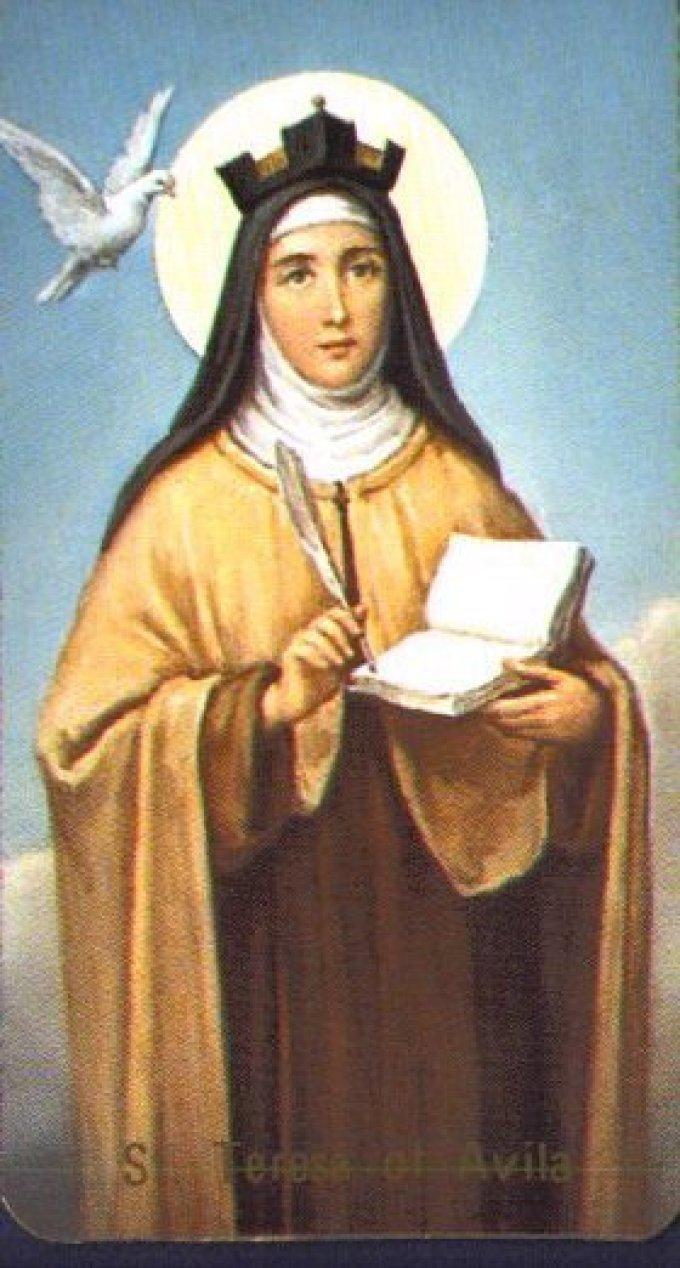 Neuvaine à Sainte Thérèse d'Avila du 7 au 14 octobre 66344?customsize=680