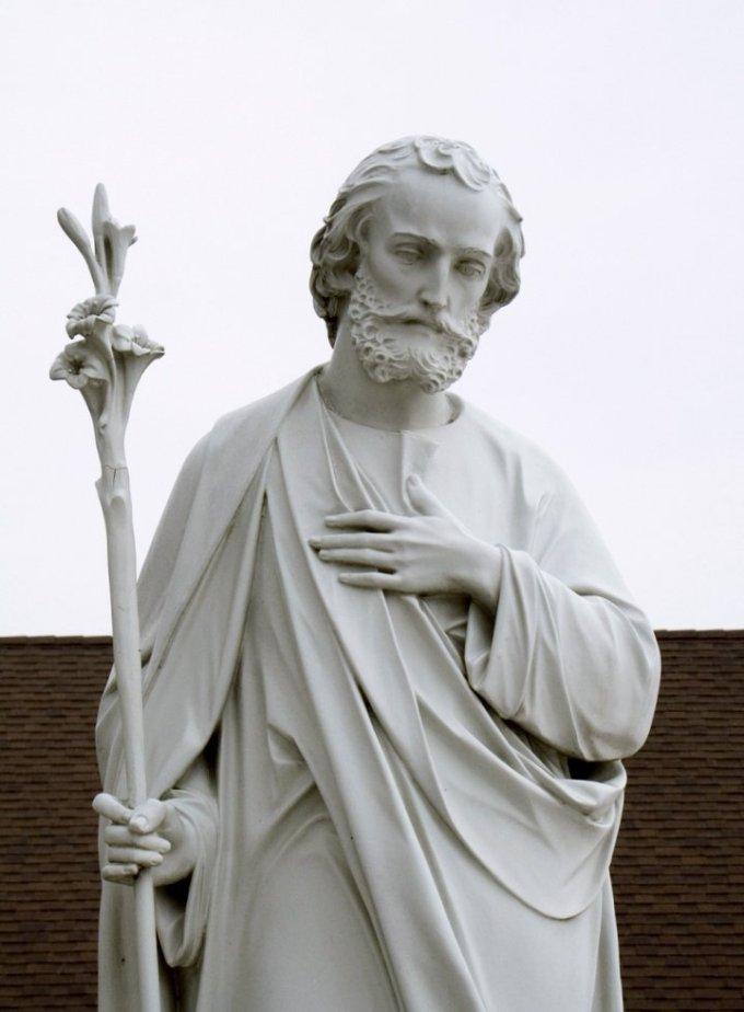 Saint Joseph, soutien puissant de l'Eglise et de Jésus, priez pour nous