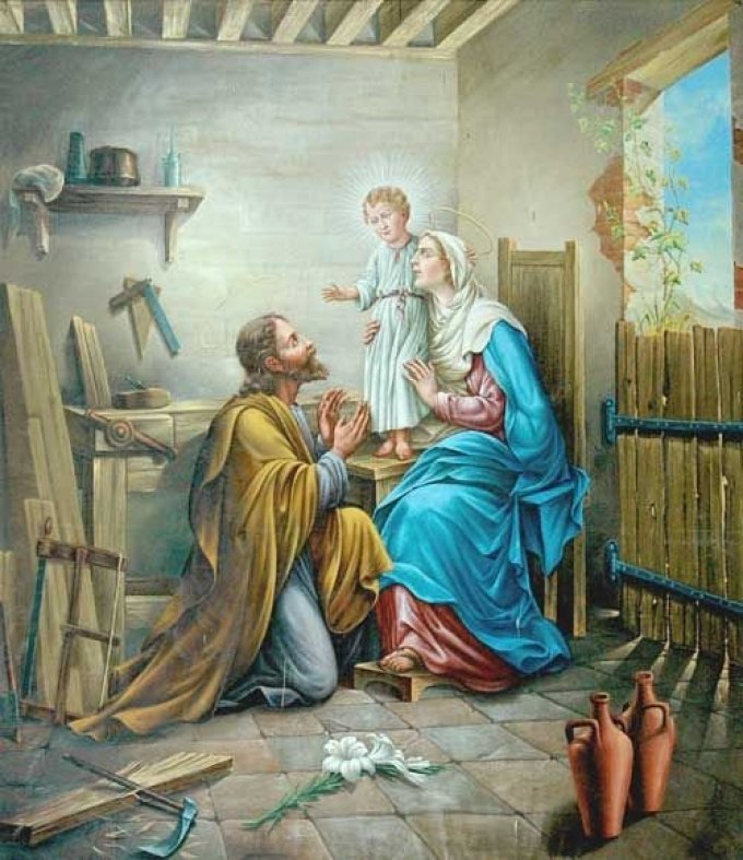 Saint Joseph, gloire de la vie domestique, priez pour nous