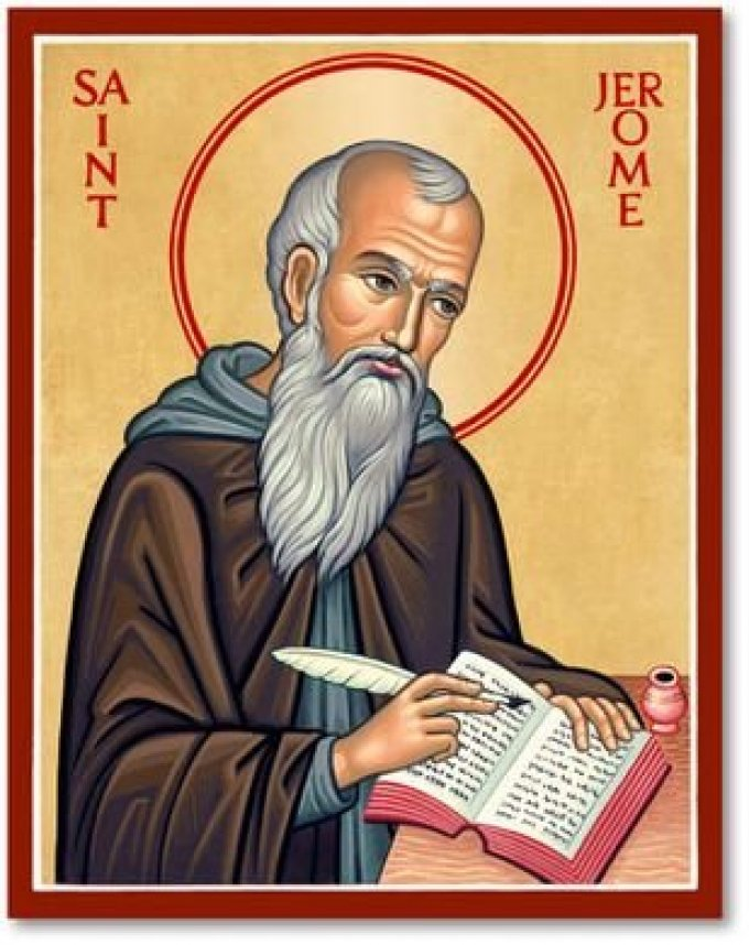 Le 30 septembre : Saint Jérôme
