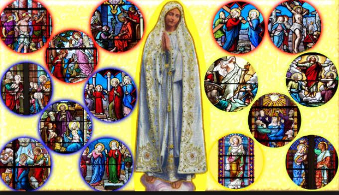 Je suis Notre Dame du Rosaire. 1 / 2