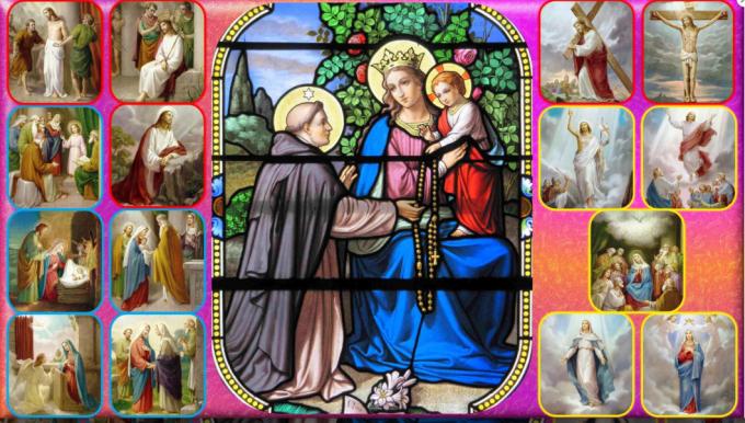 Je suis Notre Dame du Rosaire.  2 / 2