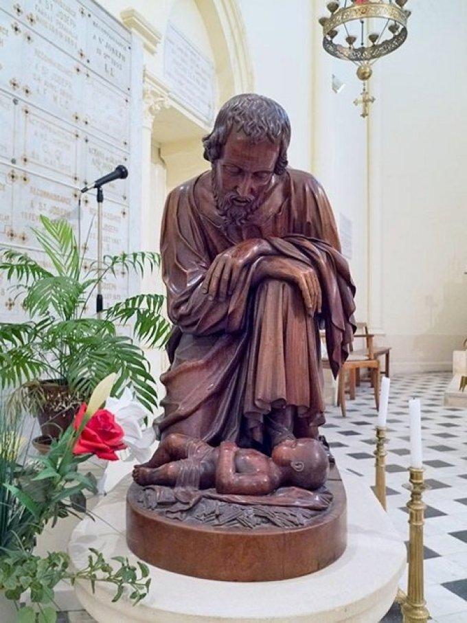 Saint Joseph, protecteur de la Sainte Eglise, priez pour nous