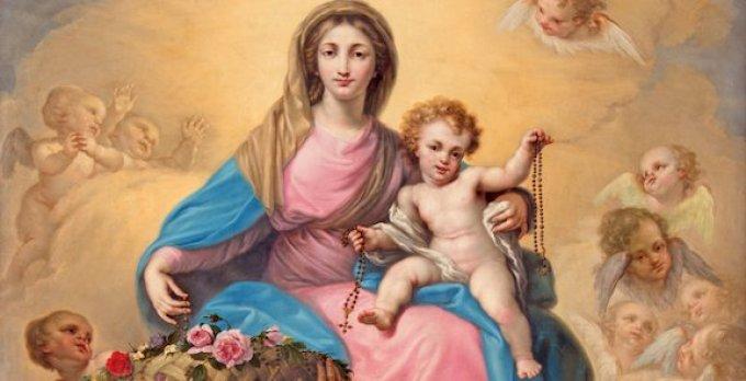 Marie, Vierge du Rosaire, écoutez nos supplications