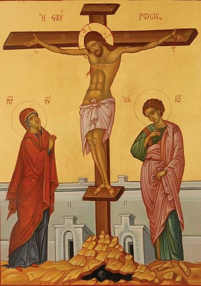 Los misterios dolorosos: La crucifixión y la muerte de Jesús en la Cruz