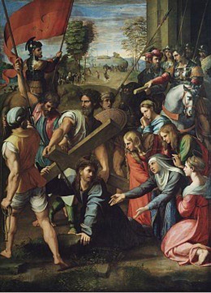 Los Misterios Dolorosos: Jesús con la Cruz a Cuestas