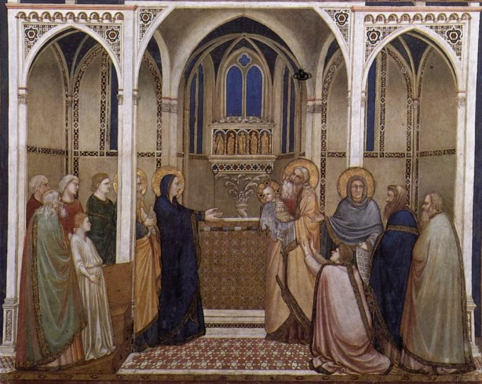 Joyful Mystery: the Presentation of our Lord