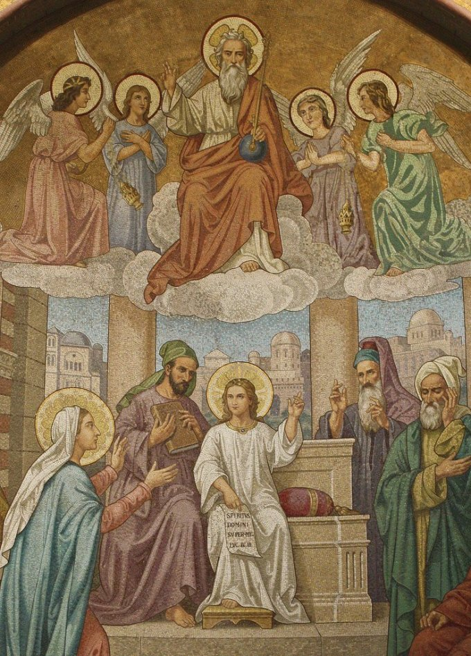 Joyful Mystery: the Finding of Jesus in the Temple