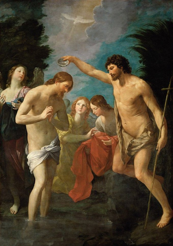 Luminous Mystery: the Baptism of the Lord in the Jordan