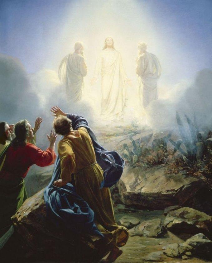 Luminous Mystery: the Transfiguration