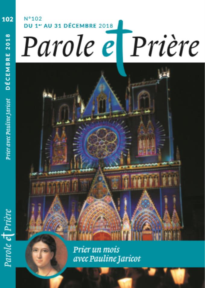 Méditation du lundi 3 décembre 2018 avec Pauline Jaricot