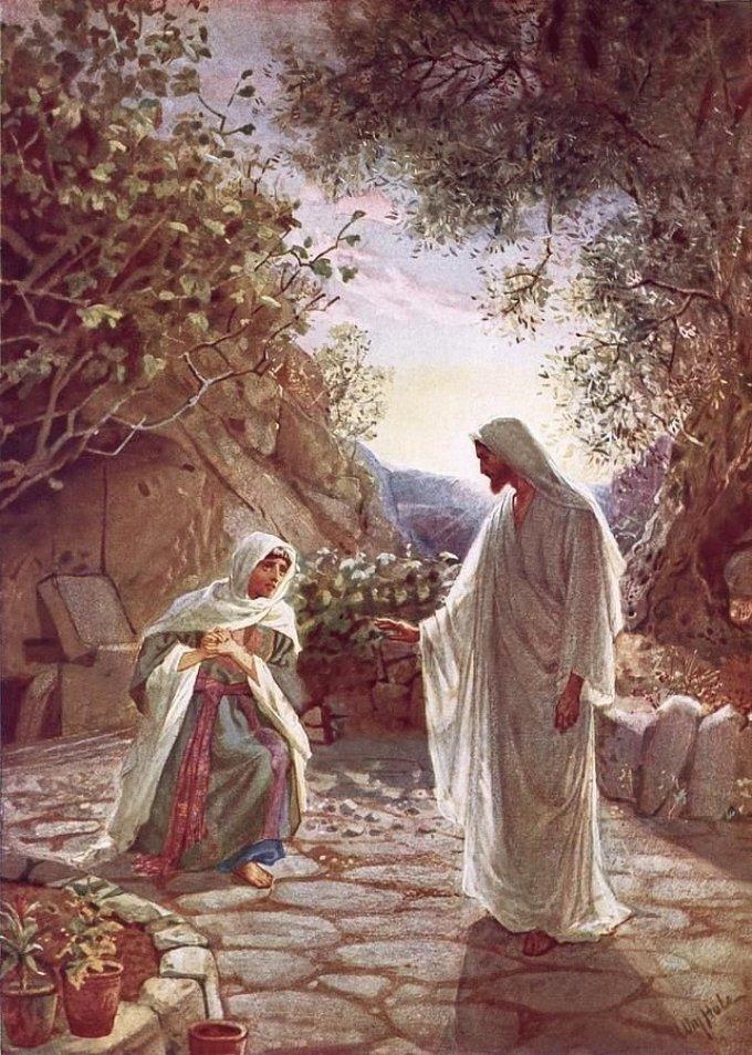 Les mystères glorieux : La résurrection de Jésus