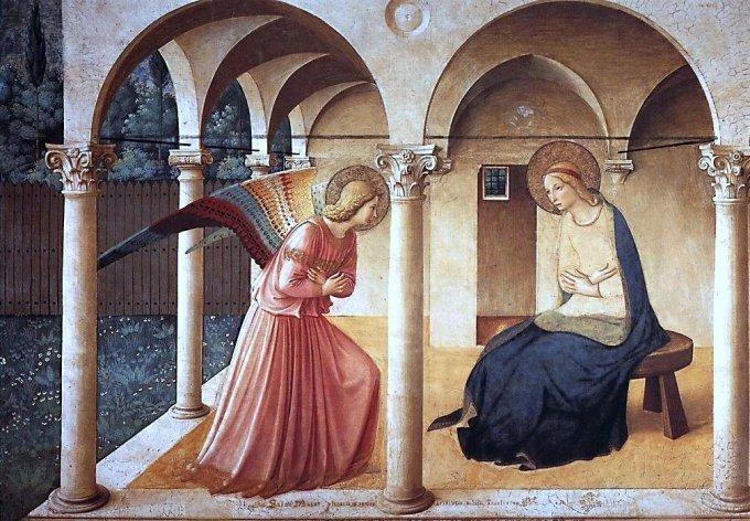 Les mystère Joyeux : L'annonciation avec une méditation de Benoît XVI
