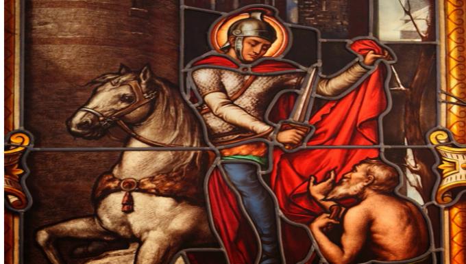 """Deuxième jour : Saint Martin, le """"Miséricordieux"""""""