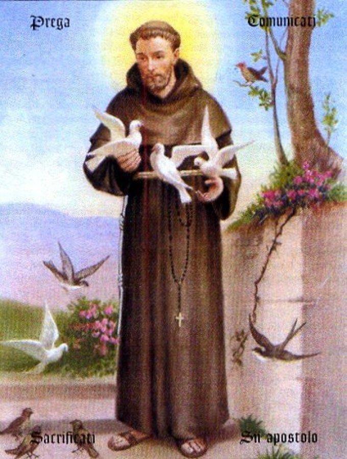 Saint François renonce à tout pour suivre le Christ / Méditation sur l'Evangile