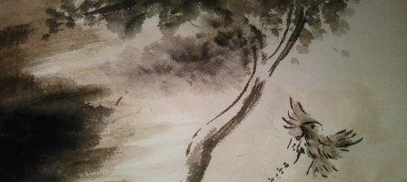 Prier avec l'évangile du jour illustré par un dessin au lavis
