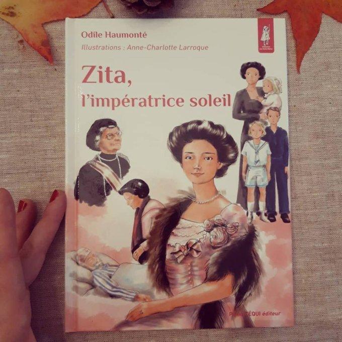 #Zita est paru ! écrit par Odile Haumonté, collection petit pâtre, (6-10 ans)