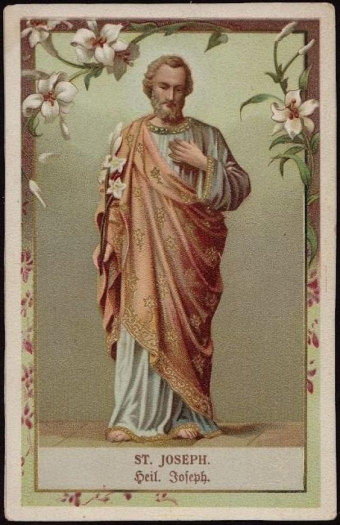 Saint Joseph, qui avez entendu le concert des anges, ppn