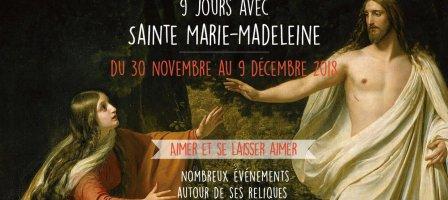 9 jours avec Sainte Marie-Madeleine