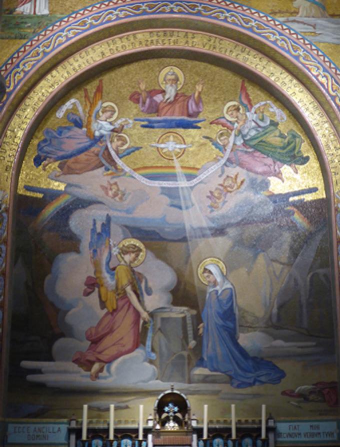 Le Rosaire .....................L' Annonciation