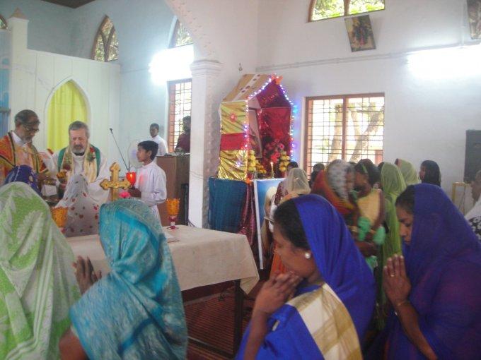 Prions pour la communauté chrétienne d'Inde