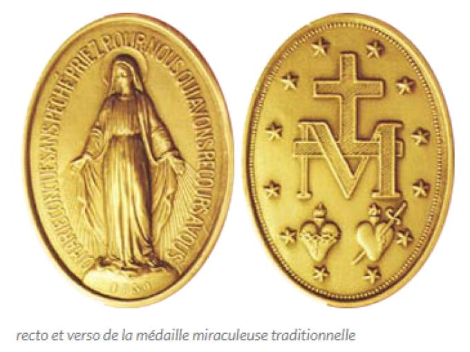 Manifestation de la médaille miraculeuse.