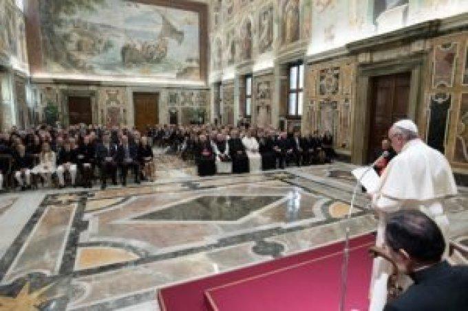 Audience Papale du 14 octobre 2017