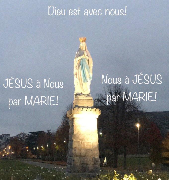 Marie: L'Immaculée Conception!