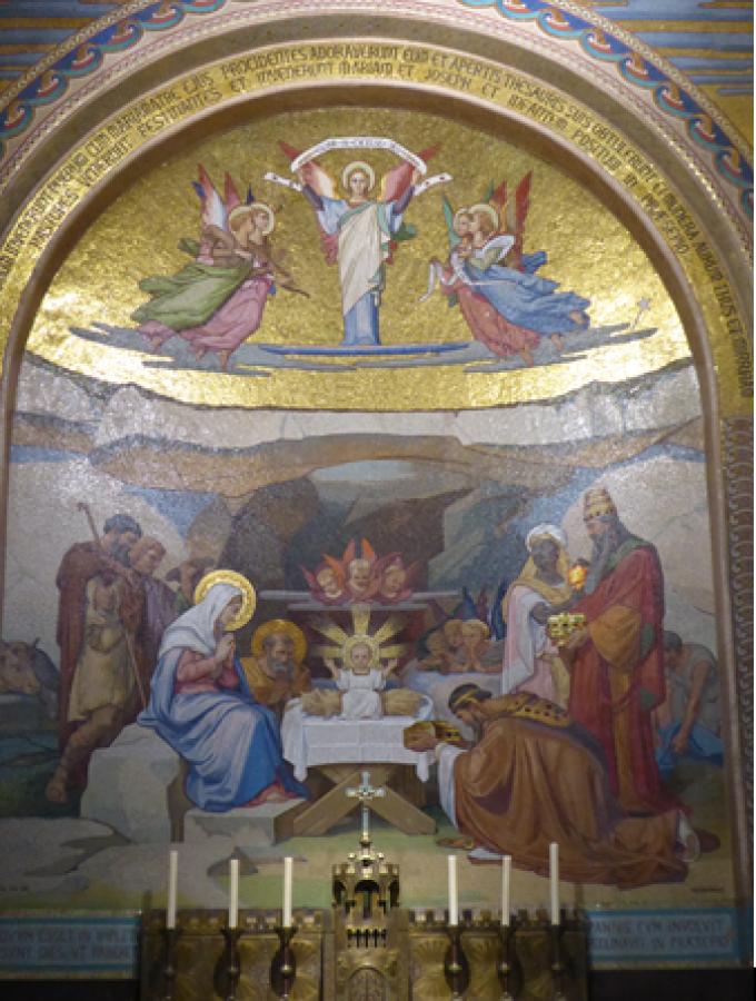Le Rosaire ...............................La Nativité...Un Enfant nous est né