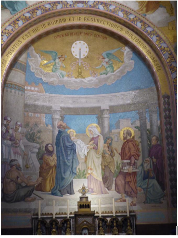 Le Rosaire ...........La Présentation de l'Enfant Jésus.