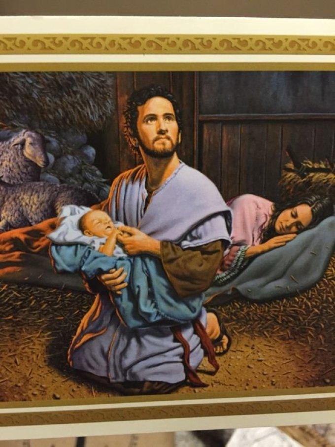 Saint Joseph, qui, le premier après la sainte vierge, avez adoré Jésus, ppn