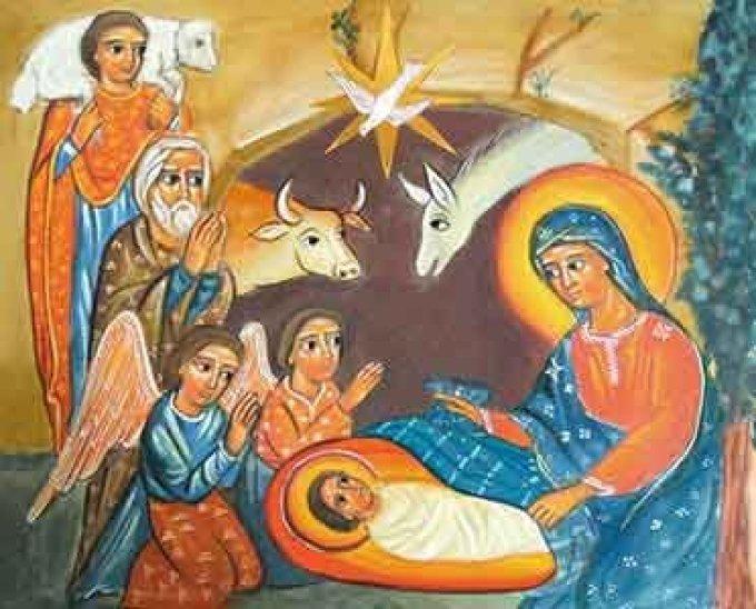 Divin enfant Jésus, ayez pitié des gens tout seuls....