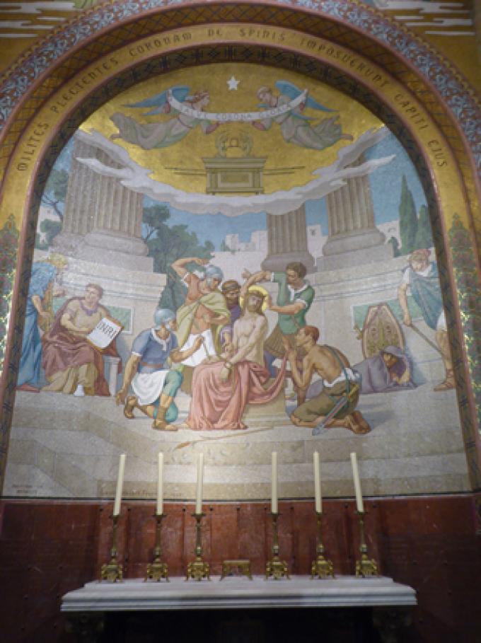 Le Rosaire………...............Le Couronnement d'épines