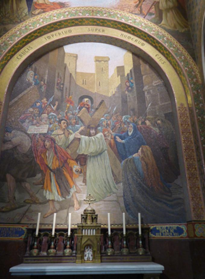 Le Rosaire ……..……….Le Portement de croix