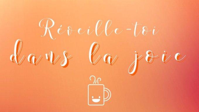Commencer la Journée plein de courage avec l'amour de Jésus !