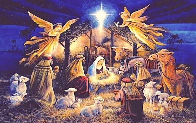 « ¡Hoy nos ha nacido el Salvador, que es Cristo el Señor! »