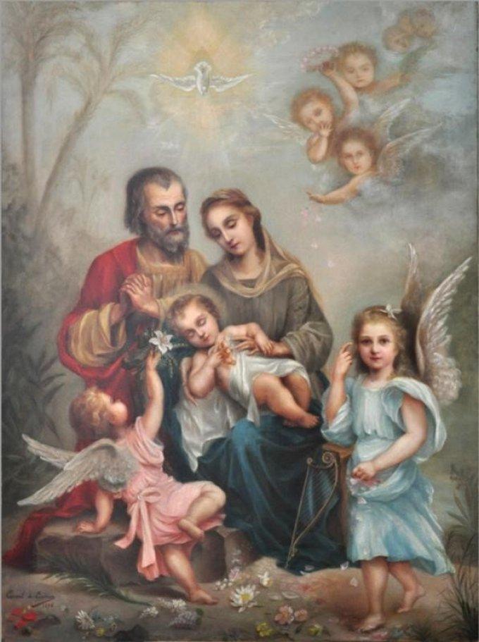 Saint Joseph, modèle de douceur et de patience, priez pour nous