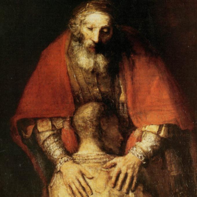 Prions avec le Révérend Père Alonso Messia Bedoya