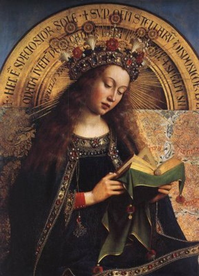 Grandeur de la béatitude de la bienheureuse Vierge.