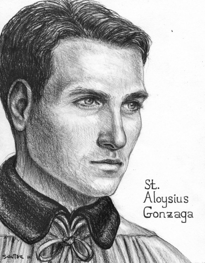 Day One: Saint Aloysius Gonzaga