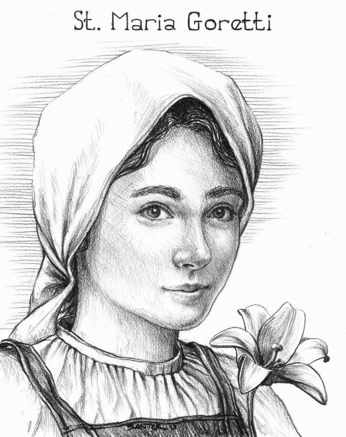 Day Two: Saint Maria Goretti