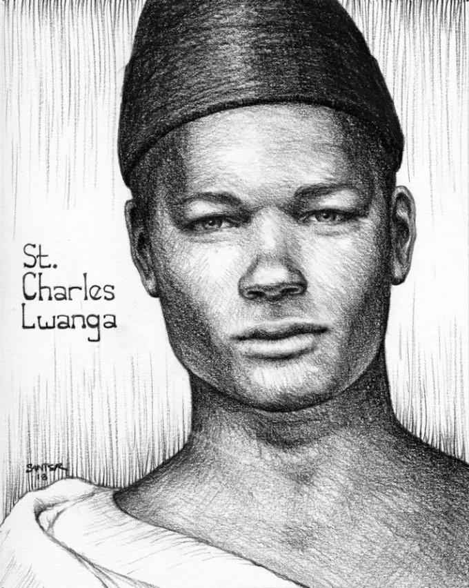 Day Three: Saint Charles Lwanga