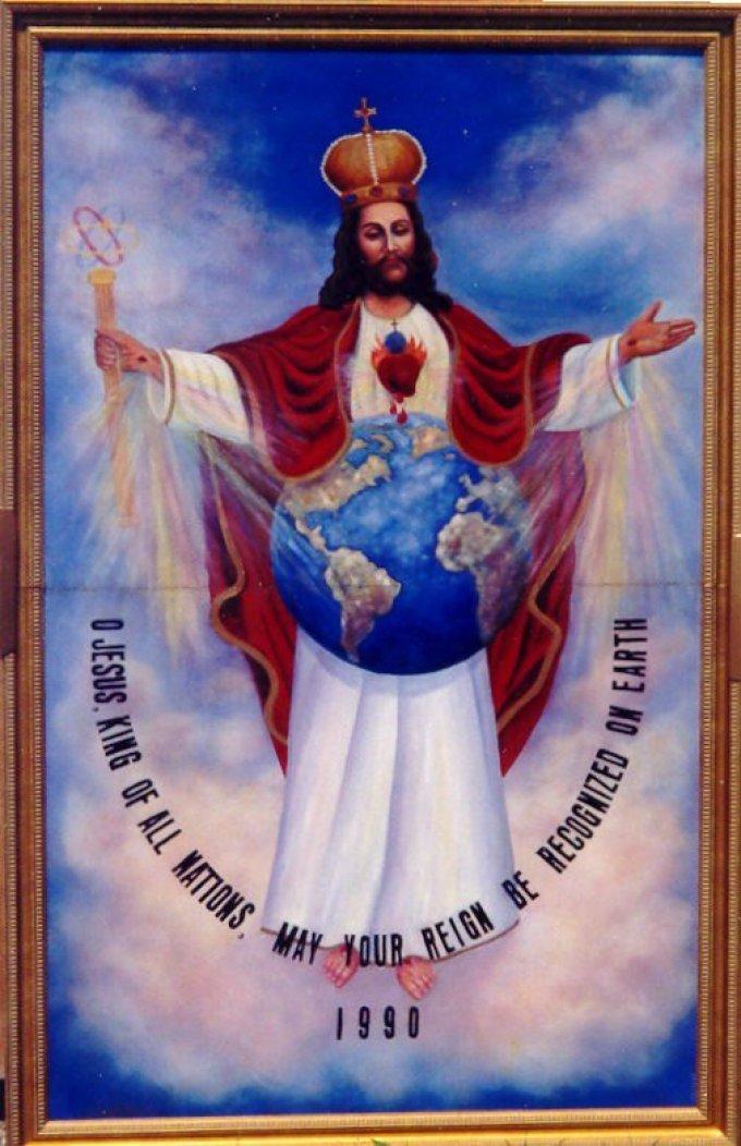 A PROPOS DE L'IMAGE DE JESUS, ROI DE TOUTES LES NATIONS