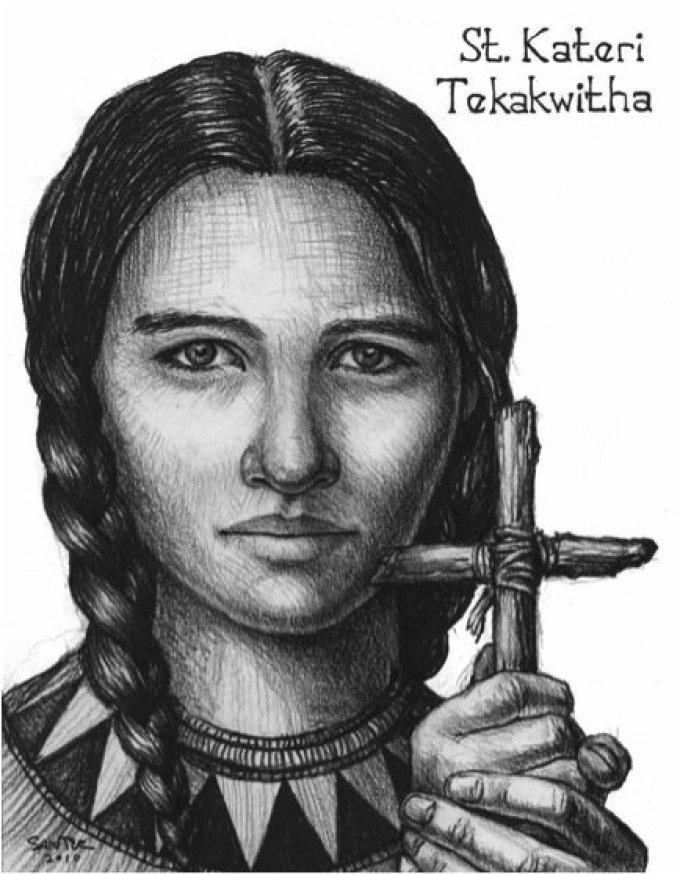 Day Eight: Saint Kateri Tekakwitha