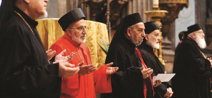 Prions pour l'unité des chrétiens et restons unis avec les chrétiens d'Orient