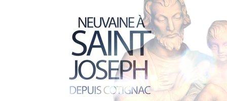 Neuvaine à Saint Joseph, depuis Cotignac