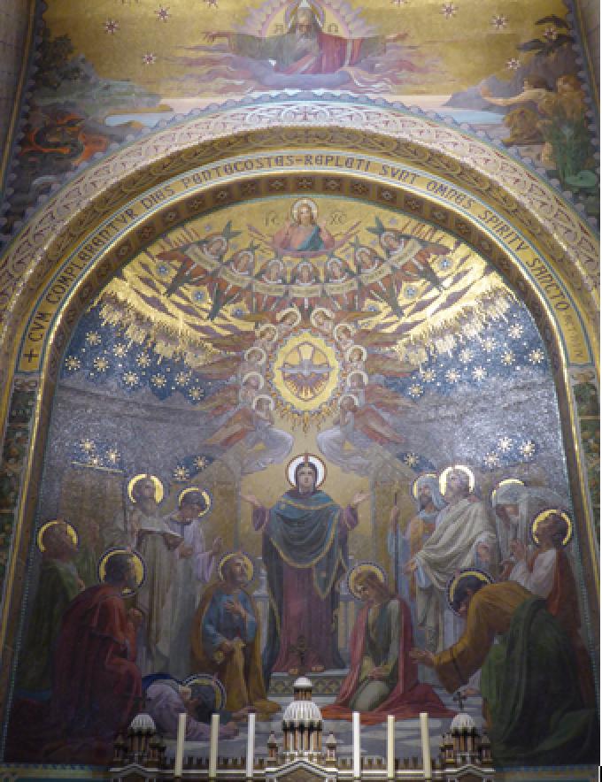 Le Rosaire ………………….La Pentecôte